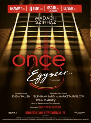 ONCE to Play at Madach Theater
