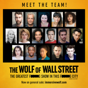 Venue And Casting Announced For THE WOLF OF WALL STREET Immersive Show in London