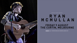 Ryan McMullan Announces One-Off Headline Show In Melbourne