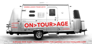 The Alarm Launch 'On Tour Age' Podcast