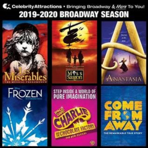 Celebrity Attractions Announces 2019-2020 Broadway Season Tickets Now On Sale in Tulsa