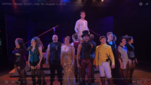VIDEO: First Look At EPAC's Production Of PIPPIN Starring Michael Roman