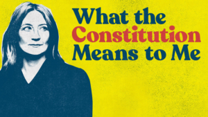 WHAT THE CONSTITUTION MEANS TO ME Joins PNC Broadway Lights Season