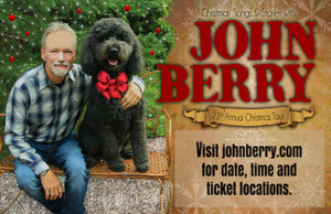 23rd Annual Christmas Songs and Stories Tour Announced by Award Winning Artist, John Berry