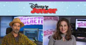 Billy Campbell and Kathy Najimy Join the Cast of Disney Junior's Upcoming Animated Series THE ROCKETEER