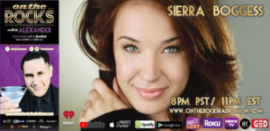 Sierra Boggess To Give Special Interview On ON THE ROCKS Radio Show