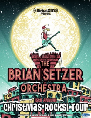 the brian setzer orchestra announces 16th annual 39 christmas rocks tour 39. Black Bedroom Furniture Sets. Home Design Ideas