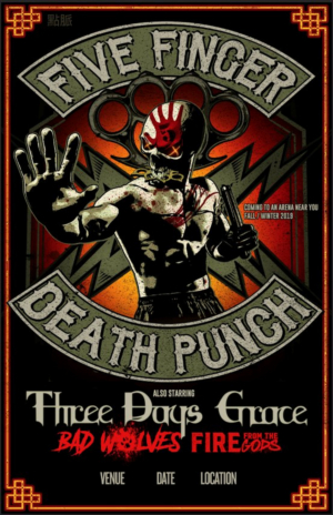 Five Finger Death Punch Us Tour : five finger death punch announce fall 2019 u s arena headlining tour ~ Russianpoet.info Haus und Dekorationen