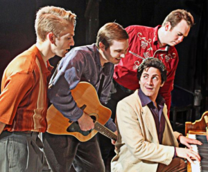 Elvis Presley, Johnny Cash, Carl Perkins And Jerry Lee Lewis Come Together in MILLION DOLLAR QUARTET At The Millbrook Playhouse