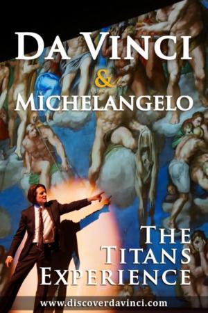 DA VINCI & MICHELANGELO Comes to St. Luke's Theatre