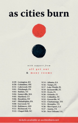 All Get Out Announce Fall Tour With Cities Burn & Many Rooms