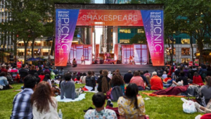 The Drilling Company's OTHELLO Comes to Bryant Park