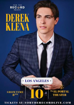 Derek Klena and Special Guest Lindsay Mendez Will Appear Live In Los Angeles