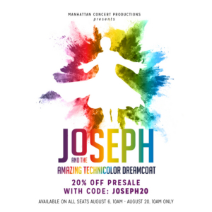 Michael Arden and Stephen Oremus Will Direct and Music Direct MCP's JOSEPH AND THE AMAZING TECHNICOLOR DREAMCOAT