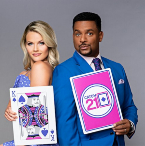 Alfonso Ribeiro and DWTS Partner Witney Carson Reunite for CATCH 21 Reboot