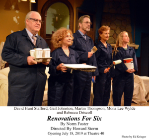 BWW Review: RENOVATIONS FOR SIX Entertains Audiences During U.S. Premiere at Theatre 40