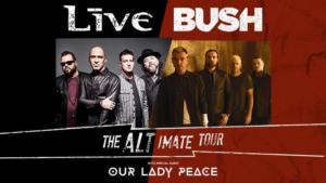+LIVE+ and Bush Add Fall Dates To Alt-imate Tour