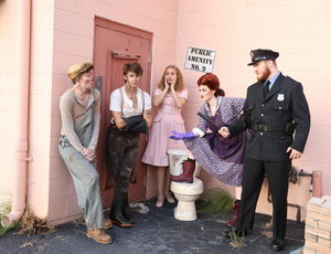 BWW Review: URINETOWN at Venice Theatre is full of laughs