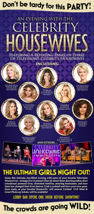 AN EVENING WITH THE CELEBRITY HOUSEWIVES Will Embark on Tour