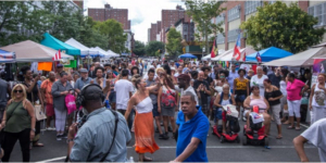 Caribbean Cultural Center African Diaspora Institute in Association with It's My Park Day Presents The AfriBembe Festival in East Harlem