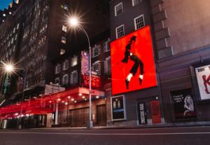 Michael Jackson Musical STOPPEN SIE NICHT, BIS SIE GENUG WERDEN, um Creative Lab zu veranstalten