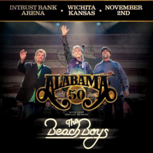 The Beach Boys Join ALABAMA for the '50th Anniversary Tour' Concert in Wichita