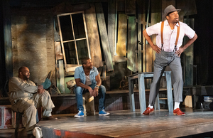 BWW Review: THE BROTHERS SIZE at Ancram Opera House - Probing, Searing Drama More Intimate Than Ever