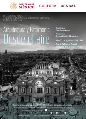 El fotógrafo Santiago Arau, abordará mañana el tema El patrimonio arquitectónico desde las alturas