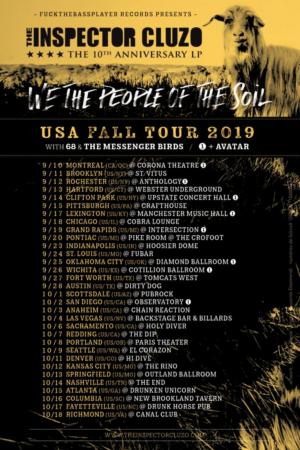 The Inspector Cluzo Announces Fall Tour