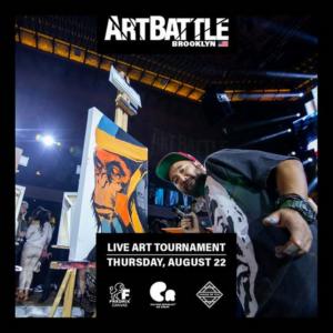 Art Battle Returns to Brooklyn