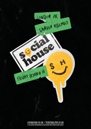 Social House Announces London Headlining Show