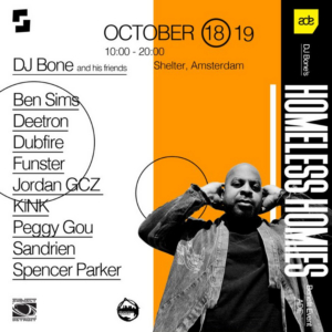 DJ Bone Announces Line Up For his Homeless Homies ADE Party
