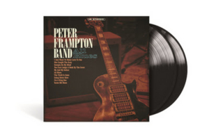Peter Frampton Band's All Blues Double LP Vinyl Out TODAY feat. Bonus Track 'I Feel So Good'