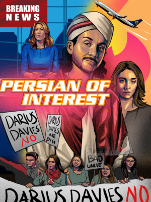 EDINBURGH 2019: BWW Review: DARIUS DAVIES: PERSIAN OF INTEREST, Just the Tonic at The Tron