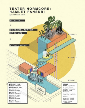 HAMLET FANSURI to Play at Port Commune