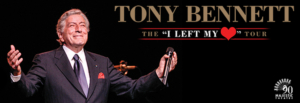 Tony Bennett to Take the Stage at the Majestic Theatre