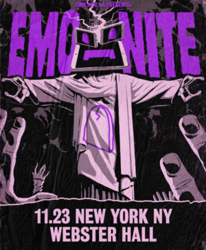 Emo Nite LA Announces Late Night Webster Hall Show, Nov 23 @ 11pm