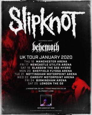 Gorillaz Tour 2020.Slipknot Announces 2020 Uk Tour