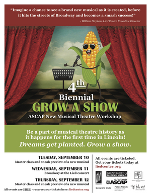 BWW Interview: Erin Poor of GROW A SHOW: ASCAP NEW MUSICAL THEATRE WORKSHOP at the Lied Center For Performing Arts