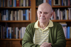 Playwright Alan Ayckbourn Releases First Novel, THE DIVIDE