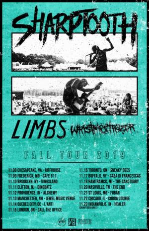 LIMBS Announces Tour with Sharptooth