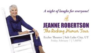 Jeanne Robertson to Headline Eccles Theater