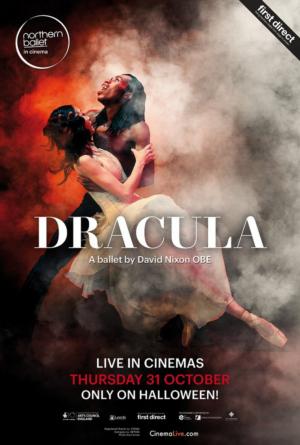 CinemaLive Announces Halloween Broadcast of Northern Ballet's DRACULA to UK Cinemas