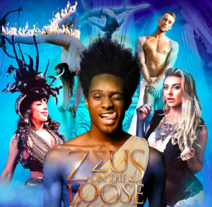 Vicky Vox Headlines ZEUS ON THE LOOSE at Fire, Vauxhall