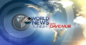 RATINGS: WORLD NEWS TONIGHT WITH DAVID MUIR is #1 Newscast in Total Viewers and Adults 18-49
