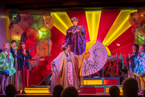 Review: THE MIKADO Presented as a Thoroughly Entertaining Hip Update of Gilbert and Sullivan's Classic Spoof of British Nobility and Politics