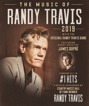 The Music of Randy Travis Tour Featuring James Dupré and the Original Randy Travis Band Coming This Fall