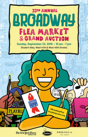 BC/EFA Announces Early Bidding For Auction Packages For The Broadway Flea Market & Grand Auction