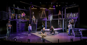 BWW Review: WORKING A MUSICAL is Relatable at The Merry – Go – Round Playhouse