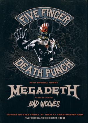 Five Finger Death Punch Announce 2020 European Arena Headlining Tour